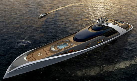 Sleek Automotive Designs Come to Superyacht