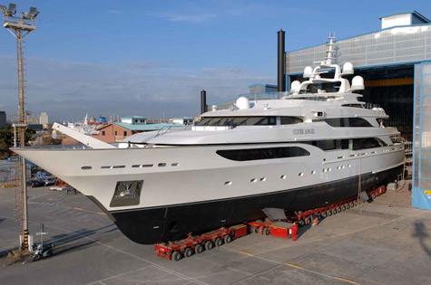 Length: 75.40m. Builder: Lürssen Yachts Naval Architect: Lürssen Yachts
