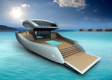 Esthec Solar-Powered Superyacht: Just Follow The Sun