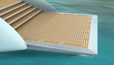 Esthec Solar-Powered Superyacht