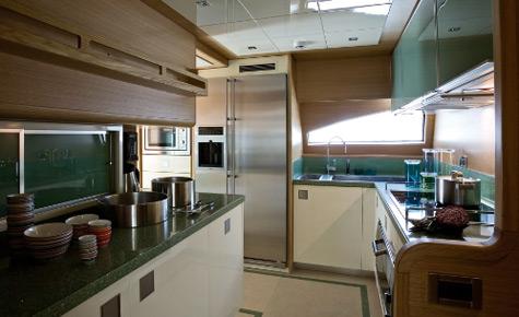 Yacht Kitchen Design By Ernestomeda