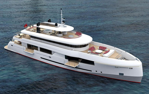 "The ""Green Voyager"": An Amazing 45 Meter Superyacht"