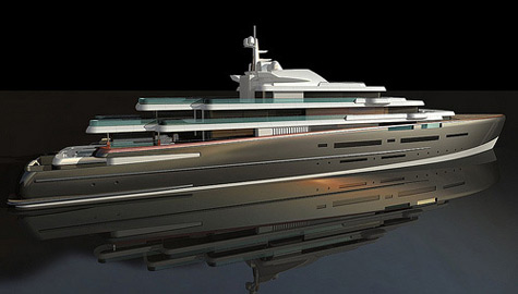 Oceanco 110m superyacht project