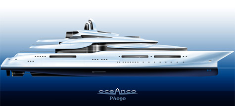 Oceanco 115m PA090 project