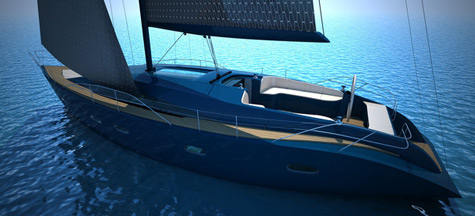 The Poseidon Concept Yacht: Eco Friendly Nanotechnologies
