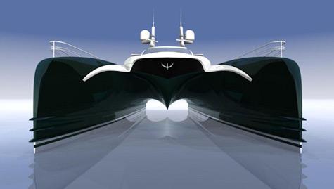 Rene van der Velden catamaran