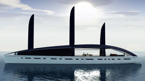 "The Super Green Yacht ""Soliloquy"" Introduced"