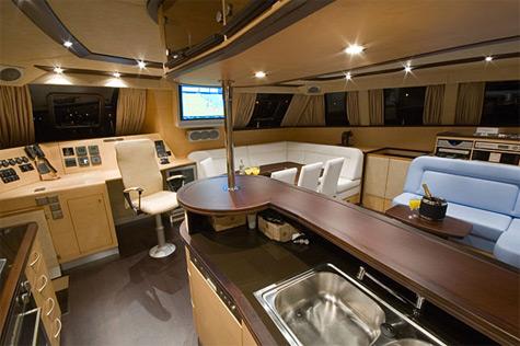Sunreef 62 classic interior