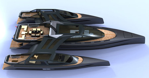 Who Said A Superyacht Hasn't To Look Like A Star Trek Aircraft?