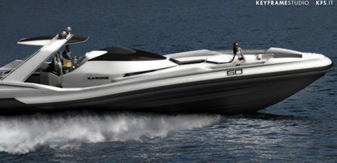 K60 Anaconda Yacht: Powerful, Luxurious And Futuristic