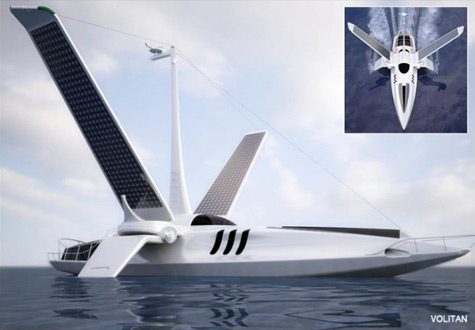 """Volitan"": The Newest Addition to the ""Environmentally Correct"" Line of Luxury Yachts"