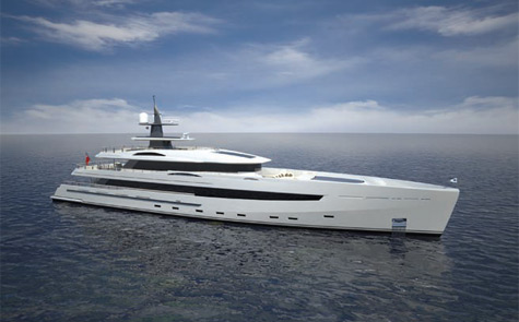 Derecktor/Azure 52m Awareness Green Yacht Concept