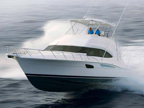 ... the legendary sport fishing yacht, but added an aggressive, ...