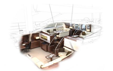 Oyster 100 interior