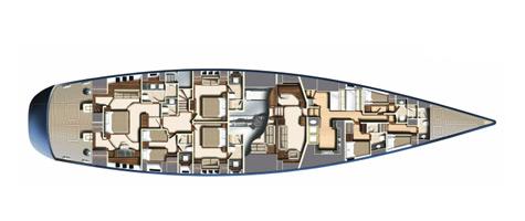Oyster 125 Flybridge