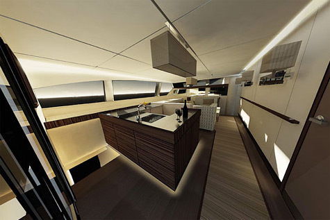 Sunreef 102 Double Deck interior