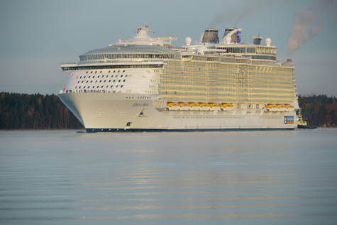 Oasis Of The Seas: World's Largest Cruise Ship