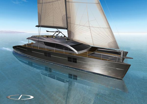 Blue Coast 95: A Revolutionary Catamaran Yacht of 95 ft