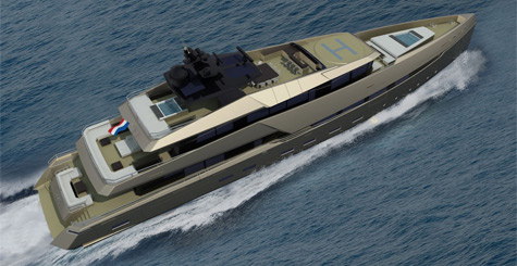 Ghost 180 Superyacht: More Than What Meets The Eyes