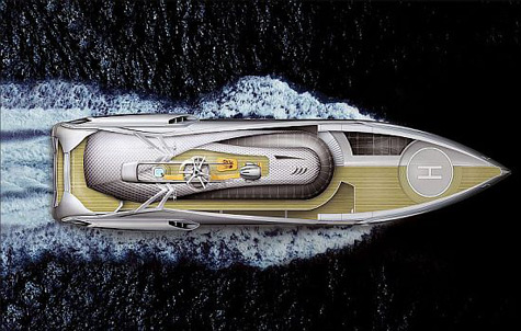 The Beach Superyacht: 100% Natural Energy Usage