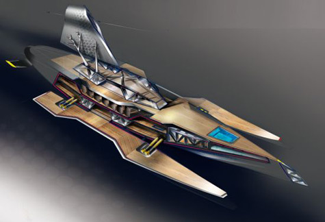 Ikkar: Ecofriendly Yacht Project of Young Designer