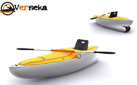 Verseka: Compact Transformable Boat