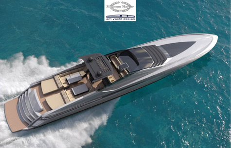 Magnum 100: The Largest Hybrid Yacht From Magnum Marine