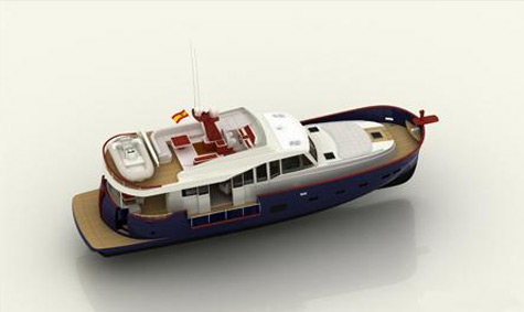 Menorquin Custom Yacht 200