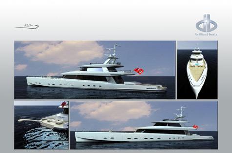 Brilliant Boats 50m Sport Fisherman