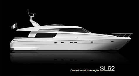 ... and fittings to fully personalize their boat. Sanlorenzo SL62
