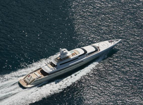 Silver Zwei: World's Fastest Conventionally Powered Motor Yacht