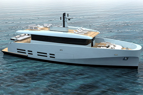 Wallyship: New Displacement Motoryacht Series From Wally