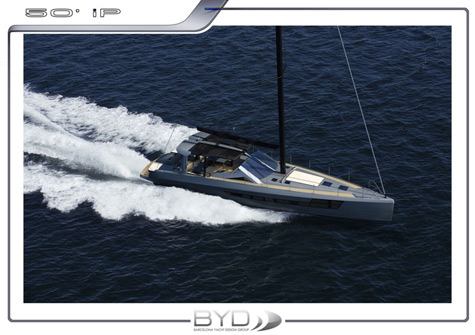 50 Planing Motor Sailor