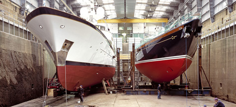 Devonport Yachts Acquired by Pendennis