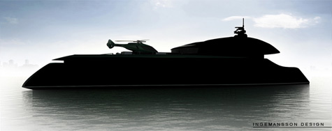 Princess Natalia Superyacht Project By Dennis Ingemansson