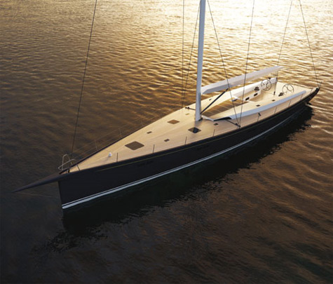 Rogers 82: Elegant And Fast Cruising Sailing Yacht