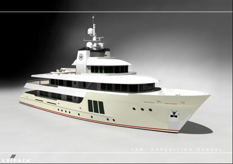 The 138ft Jasmin II Superyacht: New Generation Explorer From Vripack