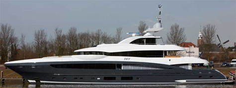 The 50m Superyacht Sky From Heesen Yachts