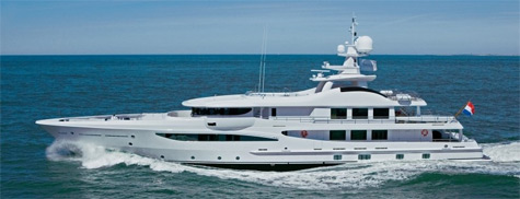 Superyacht Bel Abri: Strong Exterior Lines And Spacious Interiors