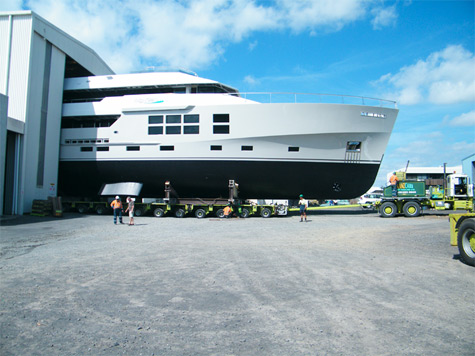 McMullen & Wing Launched The 45m Big Fish Superyacht