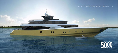 The 50m Couach 5000 Fly Superyacht: Fast And Transatlantic