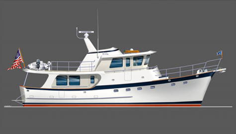 Krogen 52′: The Functional and Architecturally Magnificent Trawler Yacht