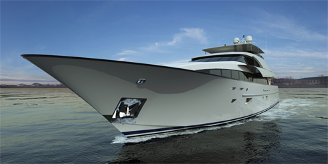 125ft Motoryacht From Northcoast Yachts: With Great Attention To Details