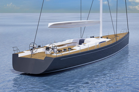Southern Wind Announces Plans For New 94ft Sailing Superyacht