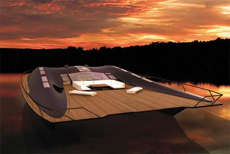 ARKKI: Futuristic Eco-friendly Catamaran Concept