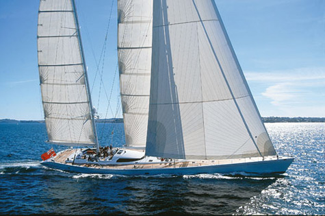 The Legendary Sailing Superyacht Mari-Cha III Comes Back For New Records