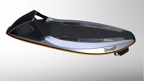 Powered Electric Body Board