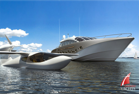 """The 38m Yacht """"Project 116″: A New Era In Powerboat Design"""