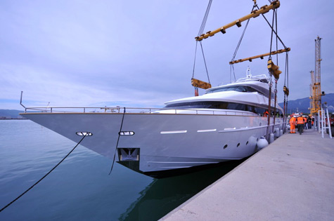 Tecnomar Launched The Superyacht Talal