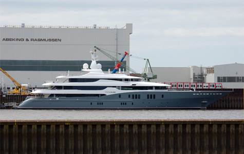 Abeking & Rasmussen Launched Superyacht Titan